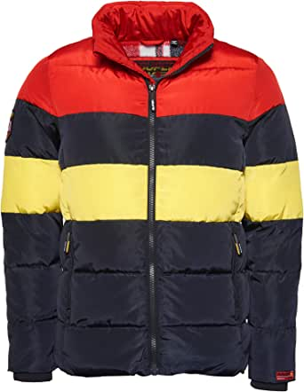 Superdry Men's Colour Stripe Sports Puffer Jacket