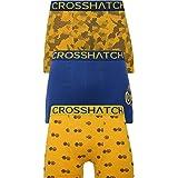 Crosshatch Mens 3 Pack TRESCO' Boxers Shorts Underwear Trunks Multipack Set