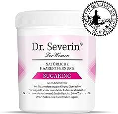Dr. Severin Cleopatra Sugaring Zuckerpaste - Wie Waxing Aber Schon Für Kürzere Haaren. Für Achseln, Beine + Intimbereich. Für Frauen + Männer. Kein Einwachsen.