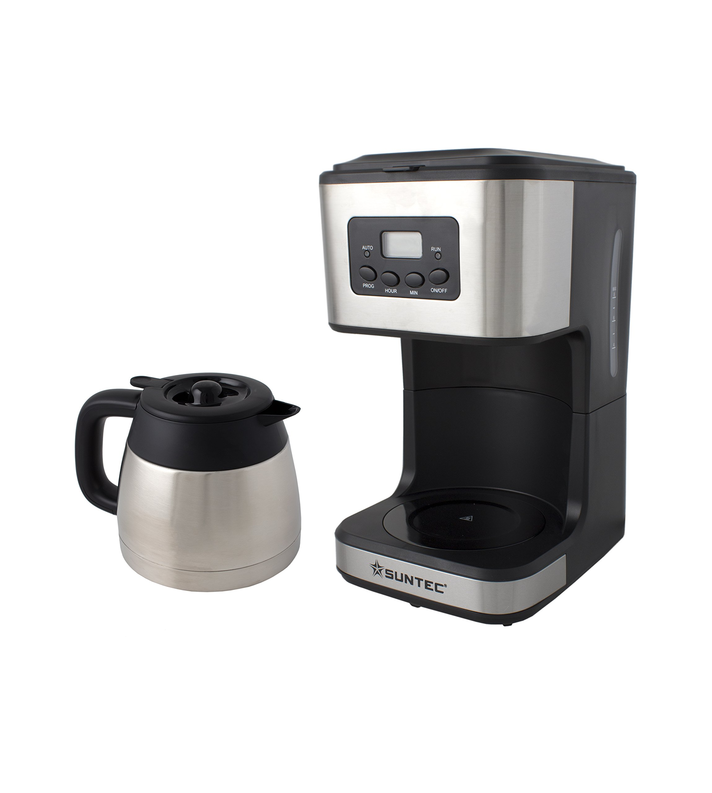 SUNTEC-Filter-Kaffeemaschine-KAM-8267-digital-Mit-Timer-Programmierung-Anti-Tropf-Feature-Edelstahl-Thermoskanne-1-l-max-900-Watt