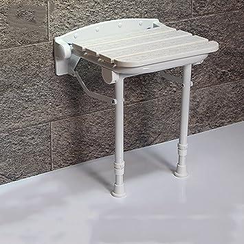 yslyd dusche hocker hhenverstellbare wandmontage falten sicherheit dusche sitz hocker behinderte ltere schwangere frauen bad stuhl wechsel schuh hocker - Sitz Stuhl Fur Dusche