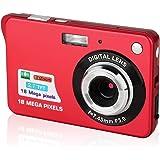 Digitalkameras, Foto Kamera Digital HD 2,7 Zoll 18.0 MP Jugend Digital Kameras Klein Geschenk Fotokamera Digital…