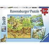 Ravensburger Kinderpuzzle 08050 Tiere in ihren Lebensräumen, Multicolor