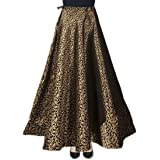 SNEH Women Maxi Skirt (SN3456_Black_Free Size)