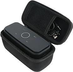 DOSS Bluetooth Lautsprecher Tasche, Khanka EVA Hart Reise Tragetasche Tasche Für DOSS SoundBox-Mobiler Tragbarer & Drahtlosen Portabler Stereo Bluetooth 4.0 Lautsprecher Speaker