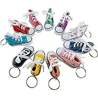 Portachiavi Scarpa Sneaker in Canvas Mini, PTN 11 Mini Sneaker in Tela Portachiavi Portachiavi Portachiavi Regalo…