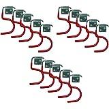 all-around24 Gereedschapshouder, 15 stuks, voor het opbergen van je apparaten met steel: bezem, schoppen, spade, harken, van