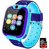 PTHTECHUS Orologio Intelligente Bambini con 7 Giochi - Musica MP3 Smartwatch Studente, Orologio Intelligente Bambini con Tele
