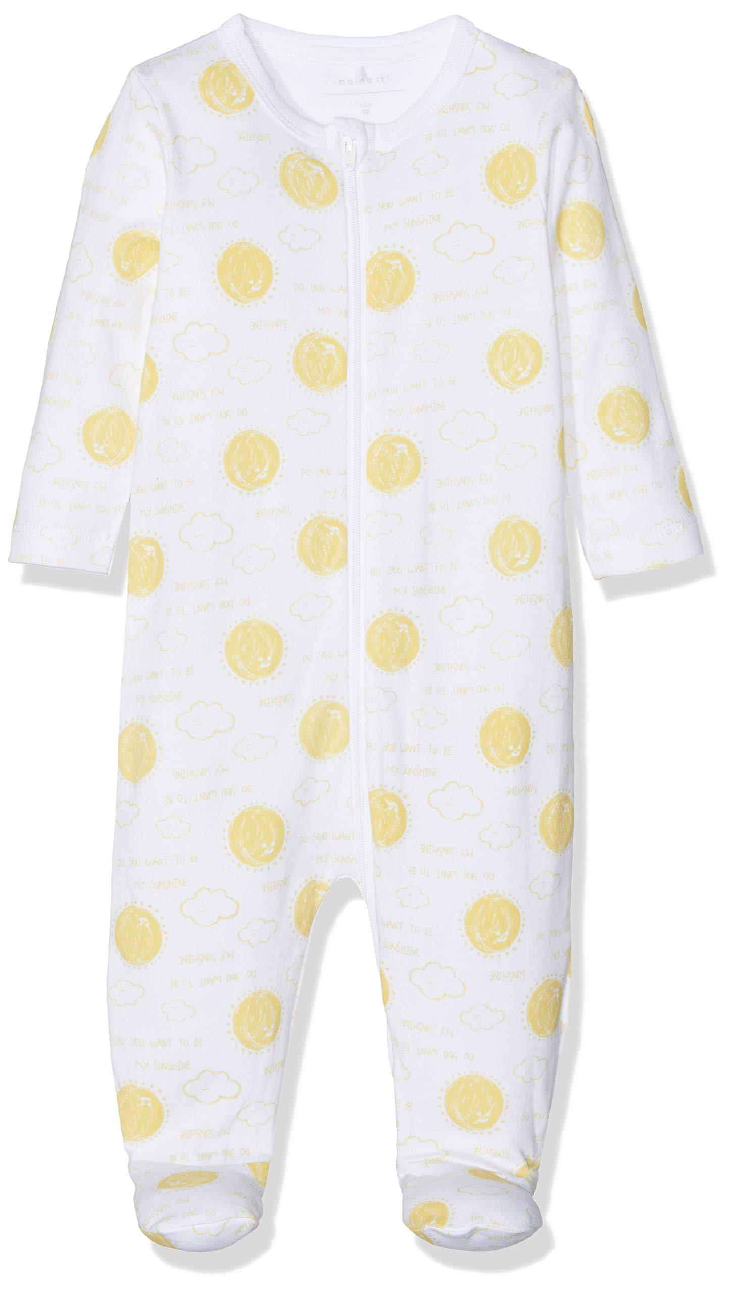 NAME IT Nbnudoha Nightsuit Wzip Pijama para Bebés 1