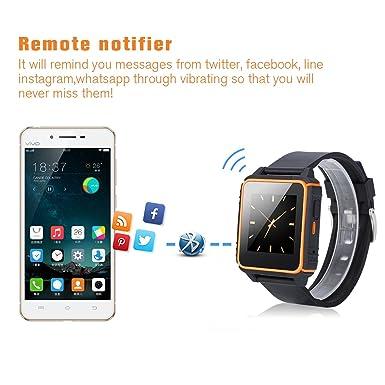 Excelvan W08 Smartwatch IP68 Wasserdichte 2G Nano SIM Karte ...