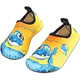Scarpe da Acqua Bambini Ragazze Ragazzi Scarpe da Mare da Spiaggia da Immersione per Sportive Acquatici Nuotata - Rapida Asci