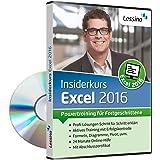 Excel 2016 Insiderkurs - Powertraining für Fortgeschrittene   Lernen Sie Schritt für Schritt Diagramme, Pivot, Formeln und Funktionen zu nutzen   inkl. Online-Kurs mit 100+ Übungen [1 Nutzer-Lizenz]
