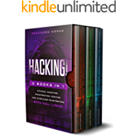 HACKING!: 3 books in 1: A Guide to Ethical Hacking, Penetration Testing and Wireless Penetration with KALI LINUX
