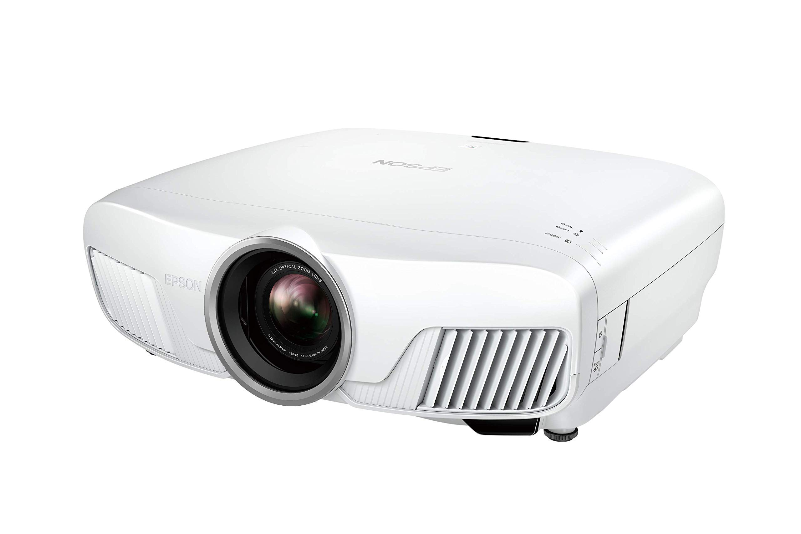71wUC1lR3NL - Epson EH-TW7400 3LCD, 4K Pro UHD Super Resolution, 2400 Lumens, 300 Inch Display, Motorised Optics, Home Cinema Projector - White