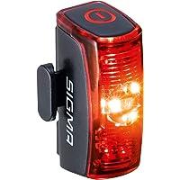SIGMA SPORT - INFINITY   LED Fahrradlicht mit 16h Leuchtdauer   StVZO zugelassenes, akkubetriebenes Rücklicht