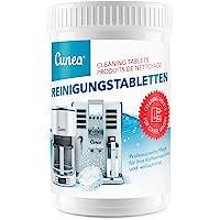 Pastilles de nettoyage pour machine à café - 150x tablettes à 2 grammes compatible avec Jura Delonghi Siemens Bosch…
