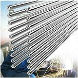 10 PCS 2.0MM 50CM Alambre de Soldadura de Aluminio de Baja Temperatura Convencional Durable Al Soldering Rod No Necesita Polv