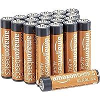 Amazon Basics AAA-Alkalibatterien, leistungsstark, 1,5 V, 20 Stück (Aussehen kann variieren)
