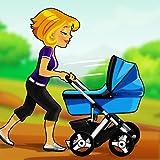 bébé fièvre fonctionnement: le bambin poussette course - édition gratuite