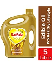 Saffola Gold, Pro Healthy Lifestyle Edible Oil Jar 5 L