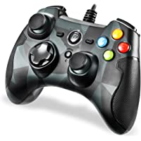 REDSTORM PC Controller Gaming Wired Joysticks Gamepad Game Controller Dual Shock TURBO for PC/PS3/Windows/Android/TV Box…