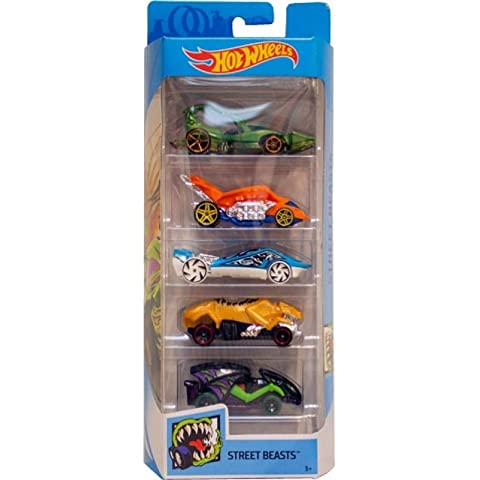 Hot wheels 5 car gift pack  Color   Design May Vary