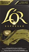 L'OR Capsule in Alluminio Nespresso  intensità 9 - 10 capsule