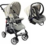 Formula Baby Pack Confort poussette et siège auto arlequin