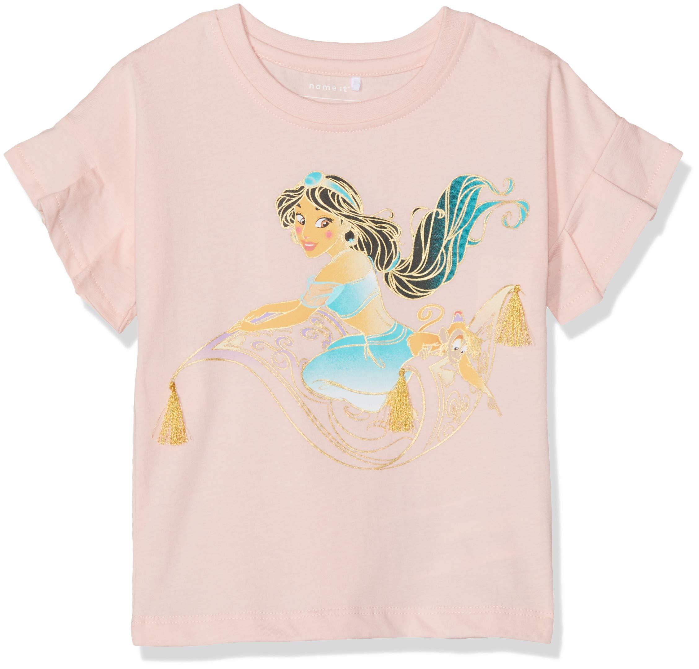 NAME IT Nmfaladdin Jasmin SS Top Wdi Camiseta para Bebés 1