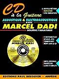 Partition : CD a la guitare acoustique M. Dadi