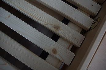 TUGA - Holztech Naturprodukt FSC 28 LEISTEN 250Kg in allen Größen 70 80 90 100 120 140 160 180 200 220 ROLLROST Lattenrost Qualitätsarbeit aus Deutschland unbehandelt
