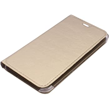 RKMOBILES Coolpad Note 3 Lite (5inch) Leather Flip Case Cover - Golden