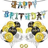 23 PCS Suministros Fiesta Mago Fiesta dekoration ZSWQ-Harry Potter Cumpleaños Decoración Banner de Feliz Cumpleaños Mago Glob