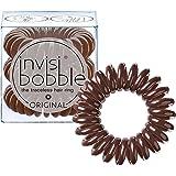 Invisibobble Original Haargummis, pretzel brown, 1er Pack, (1x 3 Stück)