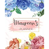 Maureen's Planner: Monthly Planner 3 Years January - December 2020-2022   Monthly View   Calendar Views Floral Cover - Sunday