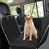 Coprisedile auto per cani,Coprisedile posteriore per cani con finestra di osservazione in rete,Protezione per sedile per anim