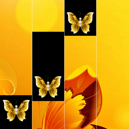 Golden Butterfly Piano Tiles 2019
