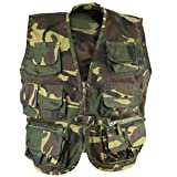 Kombat UK Kinder Tactical Weste, Kinder, Tactical, DPM Camo, 5-6 Years