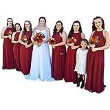 Babyonlinedress Halter Casual Maxi Dress Women's Chiffon Formal Evening Dress