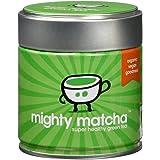 Tè Matcha Biologico In Polvere Mighty Matcha – Tè Verde Gusto Morbido e Cremoso, Vincitore Premio Great Taste Gold Award…