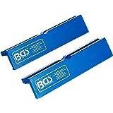 BGS 3046 | schroefstok-beschermbekken | 2-delig | kunststof | breedte 125 mm | met magneet | zachte bekken