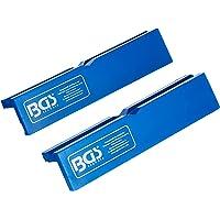 Bgs 3046 - Vice-quadrati di cottura, plastica, 2 pezzi, 125 millimetri