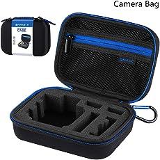 Leoie Portable Hard Bag Large Size Camera Bag Protective Storage Box for Go Pro Accessory Camera Accessories
