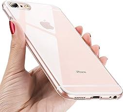 UBEGOOD iPhone 6 handyhülle, iPhone 6S Schutzhülle Ultra Dünn Soft Silikon hülle iPhone 6 Cover Kratzfeste TPU Case Anti Rutsch Silikon Case Cover für iPhone 6S/6 Bumper Case -Transparent