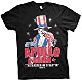 Rocky Officially Licensed Apollo Creed MenÕs T-Shirt (Darkgrey)