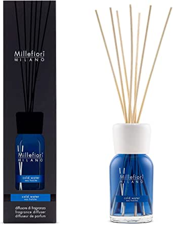 Millefiori Milano MILLEFIORI Natural DIFFUSORE A Stick 100 ml Cold Water MOD. Mill.7MDCW ND
