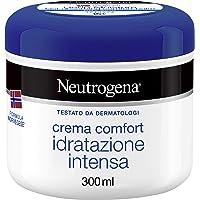Neutrogena Crema, Formula Norvegese, Comfort ad Idratazione Intensa, 300 ml