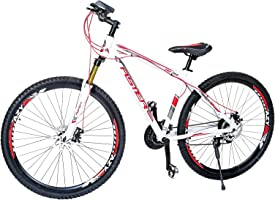 Aster Tsz760 Mountain Bike - White Red 29 Inch (Multi Color)