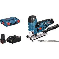 Bosch Professional Scie Sauteuse Sans-Fil GST 12V-70 (12V, course à vide: 1.500-2.800courses/min, 2 batteries 3,0 Ah, pack d'accessoires, L-BOXX)