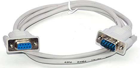 M. A. Enterprises DB9 9 Pin Serial RS232 Extension M/F Male to Female Data Converter Cable Cord (7.6905522357e+011)